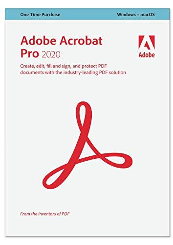 Adobe Acrobat Pro 2020 englisch|Pro|1 Gerät|unbegrenzt|PC/MAC|Download|Download