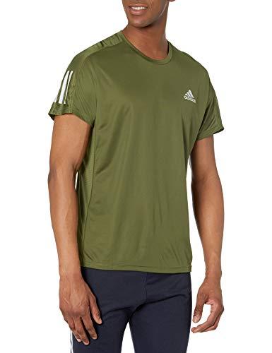 adidas Men's Own The Run Tee, Wild Pine, Medium