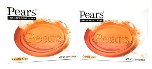Pears Transparent Glycerin Bar Soap 3.5 Oz Each (Two Pack)