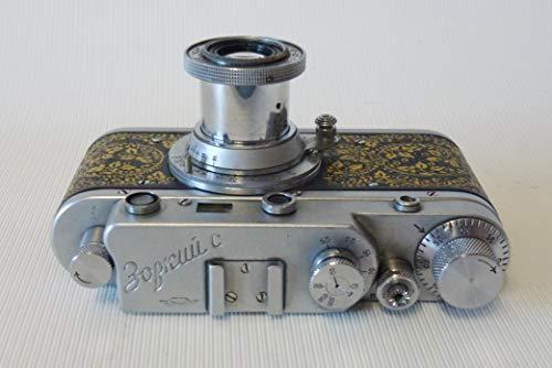 Zorki-C Rare KMZ 1956 Soviet Rangefinder Camera+Industar-22 Lens