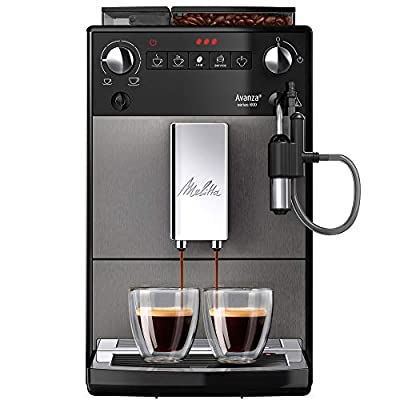 Melitta Fully Automatic Coffee Machine, Avanza Series 600, Art. No. 6767843, Stainless Steel, 1450 W, 1.5 liters, Mystic Titian