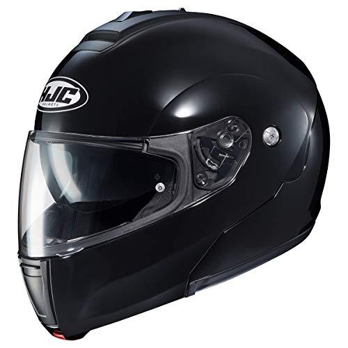 HJC Helmets Solid Men's CL-MAX 3 Modular Street Motorcycle Helmet - Black/Large