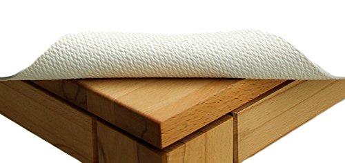 TextilDepot24 Coussin de table - Largeur : 110 cm - Longueur au choix - Protection de table - Vendu au mètre