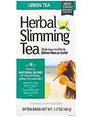 21st Century Herbal Slimming Green Tea Bags 24's
