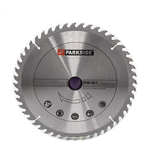 Hartmetall Sägeblatt, 48 Zähne, für Parkside Tischkreissäge PTKS 2000 A1 - LIDL IAN 273460
