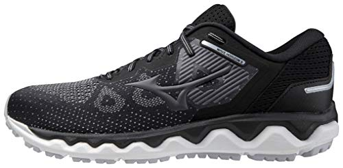 Mizuno Men's Running Shoe, Black-Lunar, 13