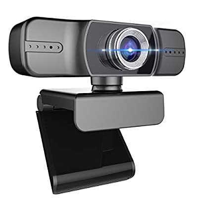 Full 1080P Webcam, Webcam with Microphone, Comp...