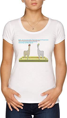Vergebung Damen T-Shirt Weiß