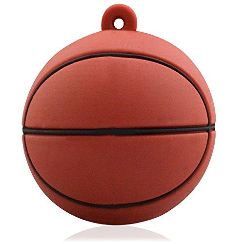 818-TEch No6900080016 Hi-Speed 2.0 USB-Sticks 16GB Basketball Sport 3D braun