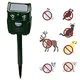 Outgeek Animal Repellent Ultrasonic & Sound Creative LED Flash Animal Repeller Pest Repeller
