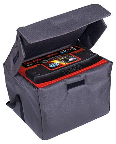 Termo-Batterietasche Batterieschutz Frostschutz Batteriehülle Thermotasche für 65-75 Ah geeignet, Größe L