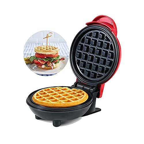 FGXY Plancha Para Waffle, Gofrera Eléctrica, Gofrera, Grill Plancha, Donutera, Antiadherentes, Indicador Luminoso,...