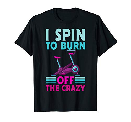 Spinning Bike Workout Indoorcycling T-Shirt