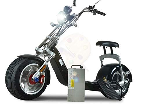 Harley Two Elektroroller Scooter Chopper - 1500 Watt Motor - Straßenzulassung - 2-Sitzer - bis zu 45 km/h - E-Scooter*