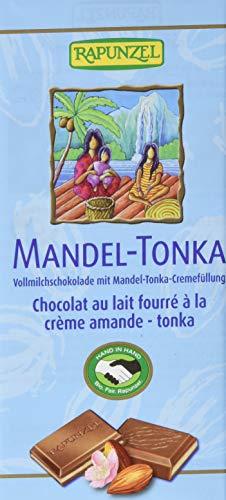 RAPUNZEL Bio Vollmilch Schokolade Mandel-Tonka HIH (1 x 100 g)