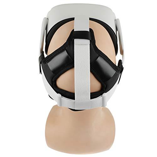 Eyglo Stirnband Kopfband für Oculus Quest 2/Oculus Quest VR Headset Reduzieren Sie den Kopfdruck Schützen Sie den Kopf Oculus Quest 2/Oculus Quest Zubehör Komfortabel Kopfpolster