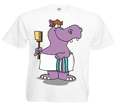Fun Hippo Hippo Badmat Comic Cartoon Film Top