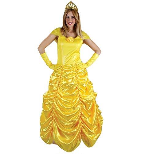 Carnavalife, Disfraz de Princesas, Blancanieves, Aurora, Tiana, Bella, Rapunzel, Vestidos Traje para Fiestas, Carnaval, Halloween, Cumpleaños, Talla S, M, L para Mujer