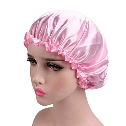 LITONGFU Shower Caps Satin Hair Accessories Hat Ladies Shower Cap Shower Cap Men and Women Shower Cap