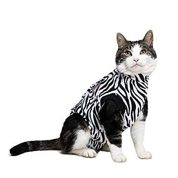 MPS Medical Pet Shirt, Zebra, für XX-Kleine Katzen