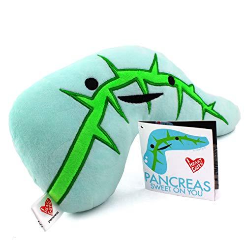 "I Heart Guts Pancreas Plush - Sweet on You! - 11"" Diabetic Gift Stuffed Toy"