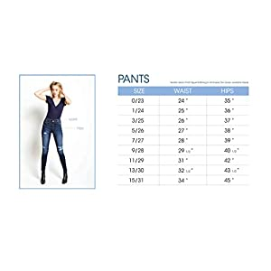 SALT TREE Kan Can Women's High Rise Button Fly Super Skinny Jeans – kc7273