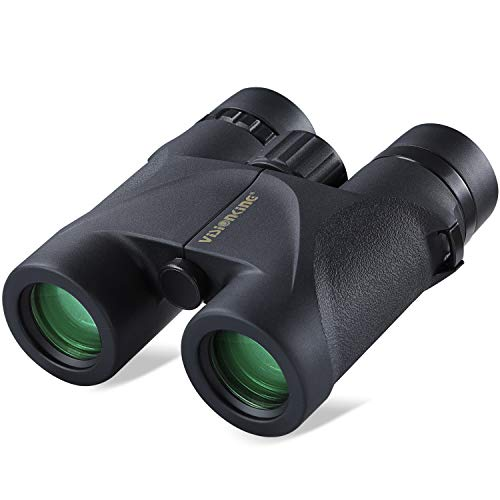 Visionking Optics Binoculars for Hunting, 8 X 32 HD Binoculars with Bak-4 Roof Prism, FMC Lens, Nitrogen Purging, IPX7 Waterproof, Available for Hunting, Bird Watching, Travel, Hiking, Concert
