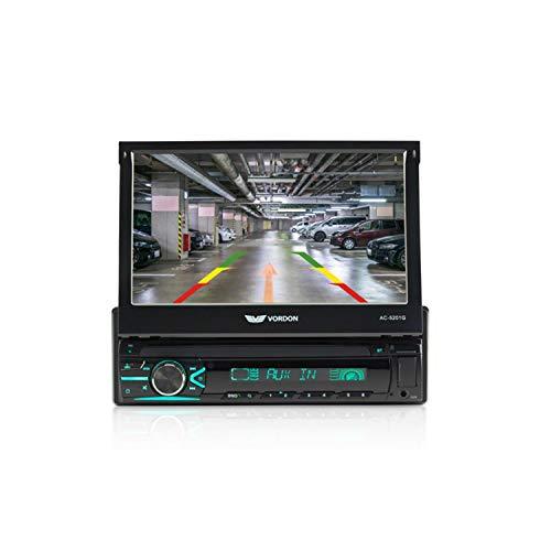 Vordon AC-5201G Boston autoradio met GPS-navigatie en uittrekbaar 7 inch scherm