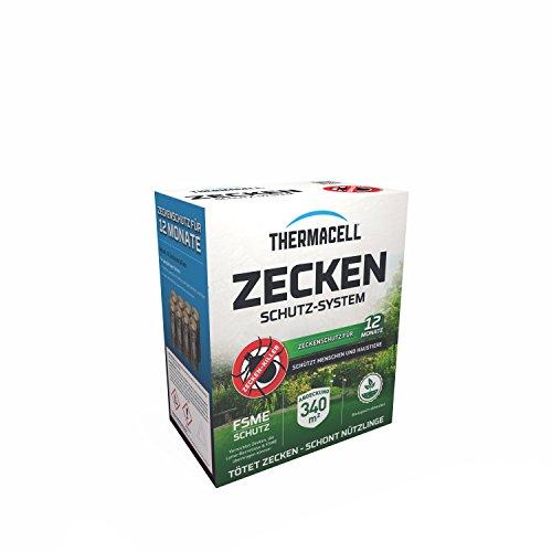 Thermacell Zeckenschutzsystem 8er Pack Zeckenschutz, Braun