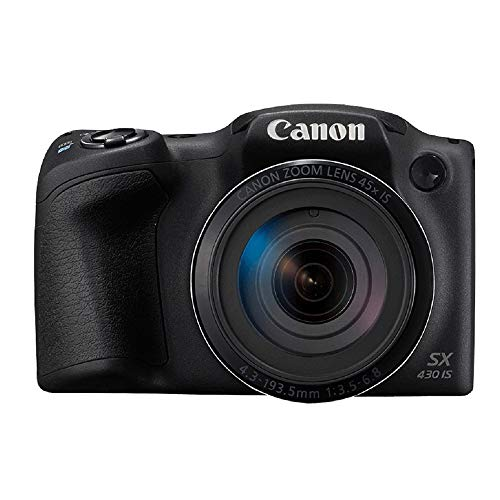 Canon PowerShot SX430 IS 20MP Digital Camera with 45x...