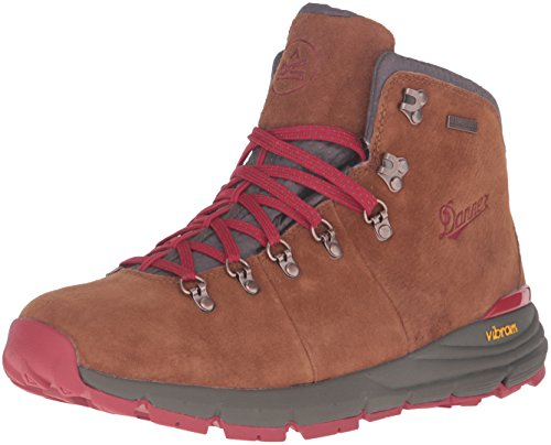 Danner Men's Mountain 600 4.5' Hiking Boot, Brown/Red - Suede, 10.5 D US