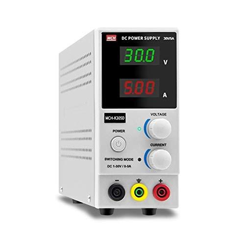 YZLP osciloscopio MCH-K305D Fuente de alimentación de CC Ajustable 30V 5A Reparación electrónica Prueba de envejecimiento de la Fuente de alimentación Experimental de CC (Size : 220V)