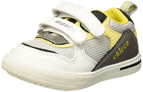 Chicco Calix, Zapatillas de Gimnasia para Niños, Blanco (Bianco/300 300), 20 EU
