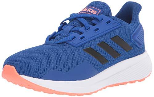 adidas Kids Unisex's Duramo 9 Running Shoe, Team Royal Blue/core Black/Signal Coral, 12.5K M US Big Kid