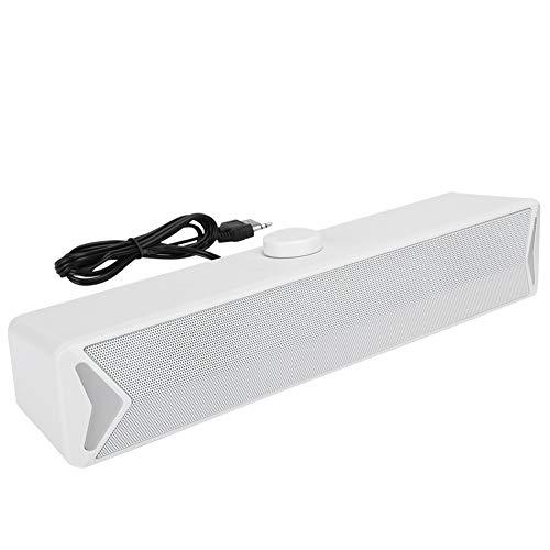 Garsentx Soundbar, Kompakte PC-Lautsprecher Home Desktop Mini-Lautsprecher...