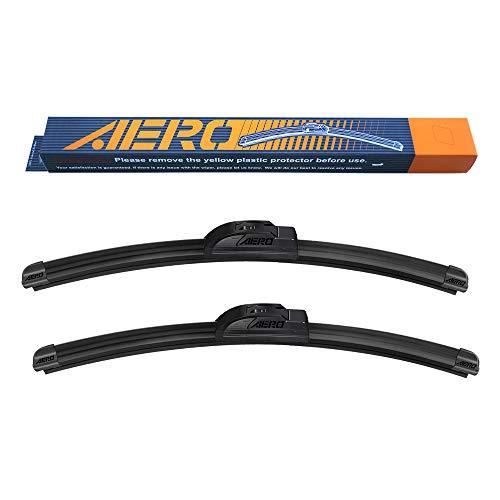 AERO 24' + 19' OEM Quality All Season Beam Windshield Wiper Blades (Set of 2)