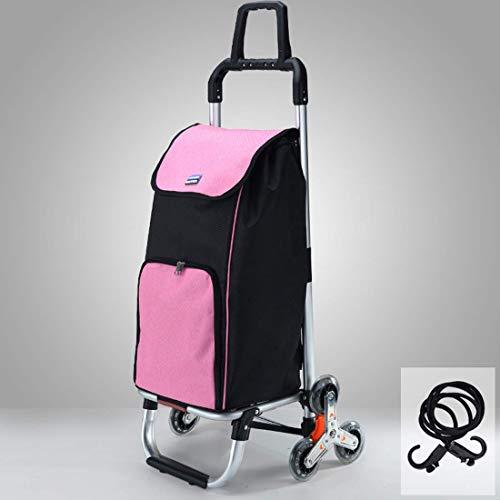 Z-SEAT Bolsa de Compras Plegable con Ruedas, Carrito de Compras Mochila Desmontable para Mujeres, Viajes, Vacaciones, Camping, Playa, Juegos, Picnic, lavandería, Equipaje,