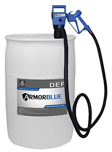 ArmorBlue TED1 Drum Pump for Diesel Exhaust Fluid (DEF) | 115v/12v | 5 Gallons per Minute | Portable Unit