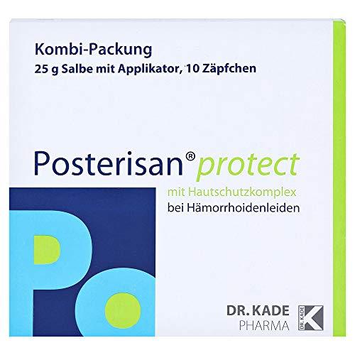 Posterisan protect Kombi-Packung Salbe und Zäpfchen bei Hämorrhoidenleiden, 1 St. Kombipackung