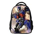 NIWTHR Children School Backpack Transformers Backpack-Kids Back to School Bookbag-Lightweight Travel Backpack for Boys Girls