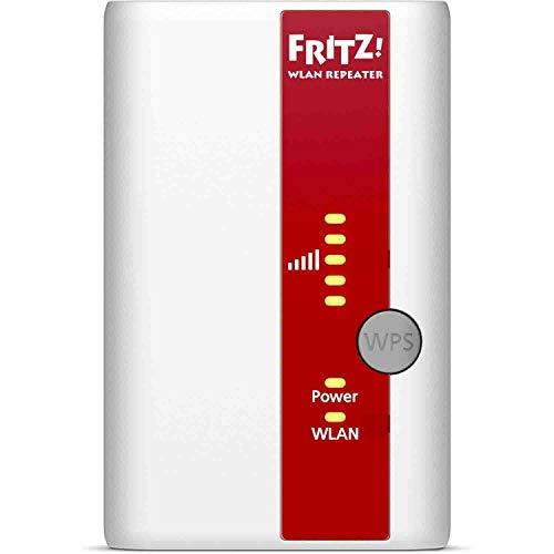 AVM Fritz WLAN Repeater 310 (300 Mbit/s, WPS, internationale Version), Weiß