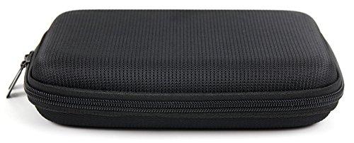 DURAGADGET Housse étui de Protection en EVA Rigide pour Tablette Tactile Auchan Qilive Mid 7 8 Go, Clust CL4C07 (HD-BK, HD-WH, IPS), Lenovo Tab 2 A7-10 et A7-30 - en Noir + Chiffon Microfibre