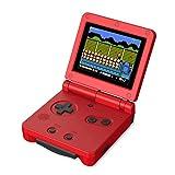 Consolas de juegos portátiles de pantalla grande de 3.0 '' para niños de 4 a 8 años de edad, juego de mano con rompecabezas incorporado de 500 juegos de video soporte para conectar TV