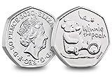 2020 UK Winnie the Pooh CERTIFIED BU 50p