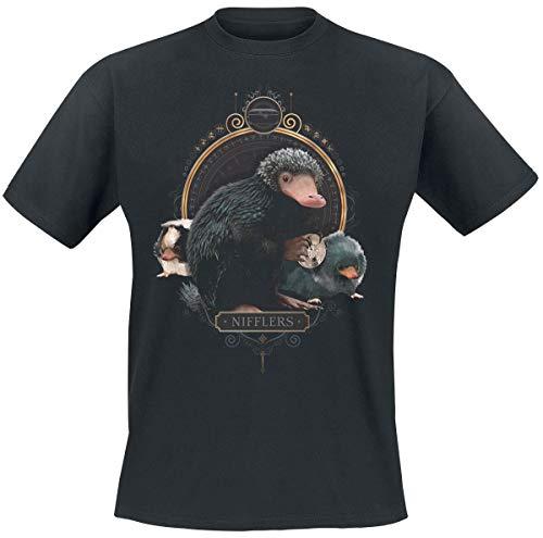 Phantastische Tierwesen Grindelwalds Verbrechen - Nifflers T-Shirt schwarz L