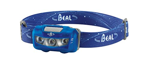 BEAL L28 - Linterna frontal, color azul