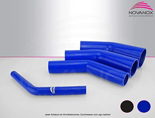 Superflex Tuyau en silicone flexible 1 m /Ø 13-38 mm noir