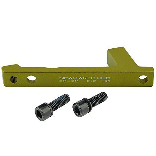 aleación de aluminio 6061 FRENO DISCO Adaptador Trasero 180mm montaje en poste...