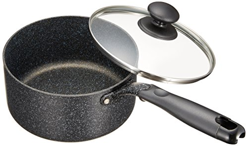 和平フレイズ 片手鍋 煮物 茹で物 ダブルマーブル 18cm IH対応 WR-6293