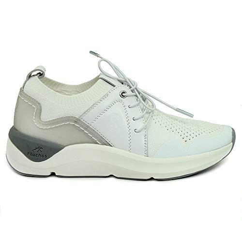 Zapatos FLUCHOS F0876 SEÑORA Blanco